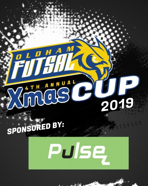Sponsoring Oldham Futsal Xmas Cup 2019