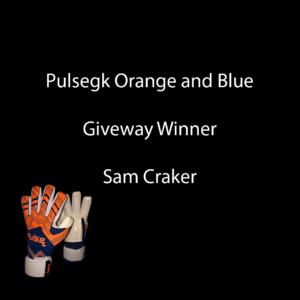 Pulse vibe orange and blue giveaway winner