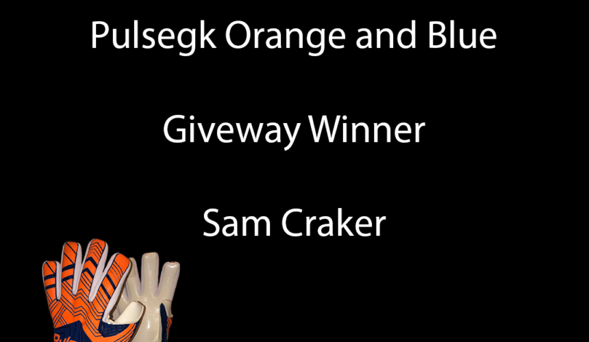 Pulse vibe orange and blue giveaway winner
